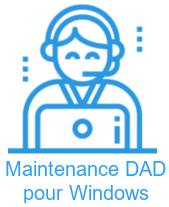 Mainenance DAD pour Windows