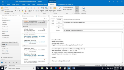 Solutions métiers - logiciels - Outlook - Office 365